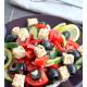 Греческий салат по-сыроедчески