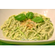 Спагетти с Песто из Базилика и Брокколи