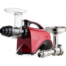 Шнековая соковыжималка SANA Juicer 606 Red + Sana Oil Extractor EUJ-702